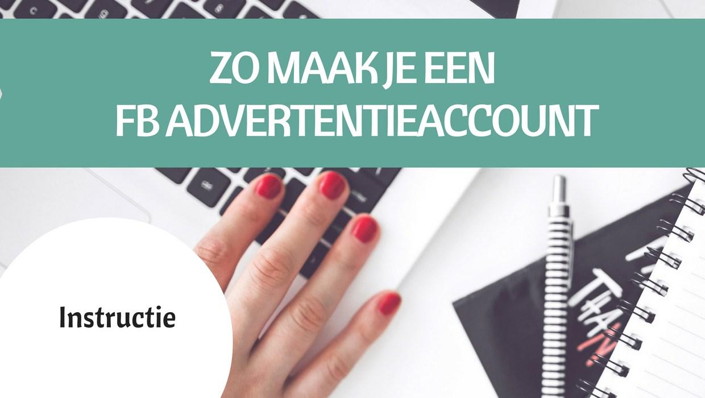 Hoe maak ik een advertentie account op Facebook