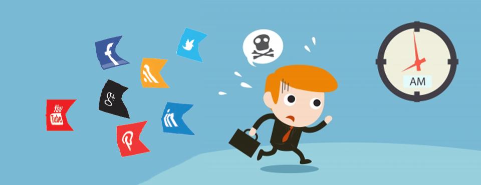 Altijd druk en toch online, met The Socializer